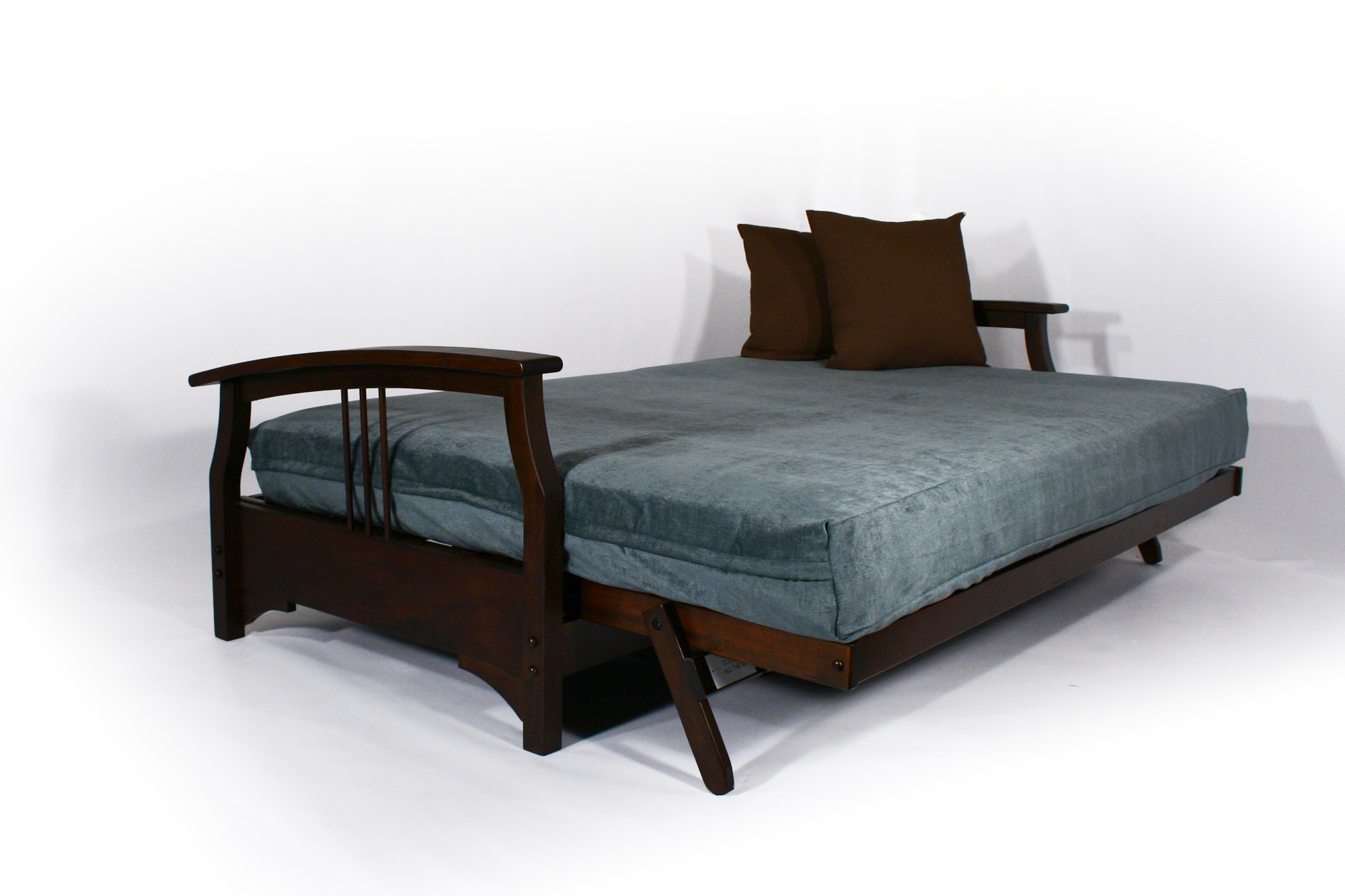 This Collection Allows For Fed Ex Ground Delivery Of Your Futon Frame With Five Arms And Two Finishes It Quick Shipping