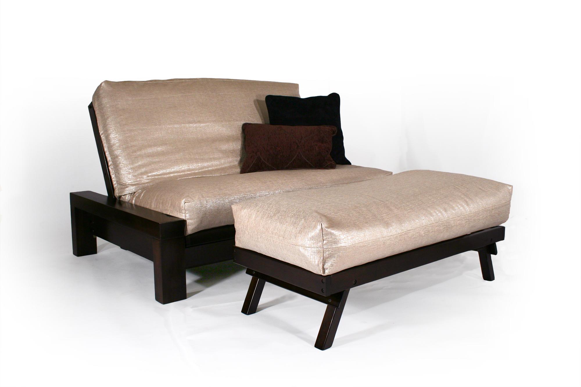 futon with ottoman