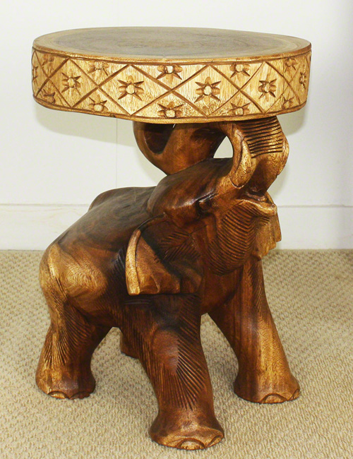 The Elephant Chang Accent Table