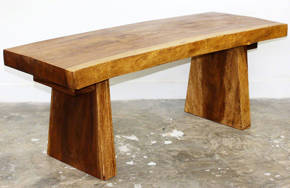 The Natural Edge Bench